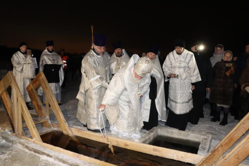 В Ярославской области проходит празднование Крещения