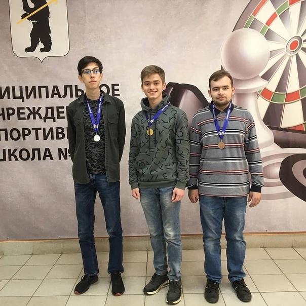 В МУ СШ N 16 прошел Чемпионат города Ярославля по шашкам среди мужчин и женщин