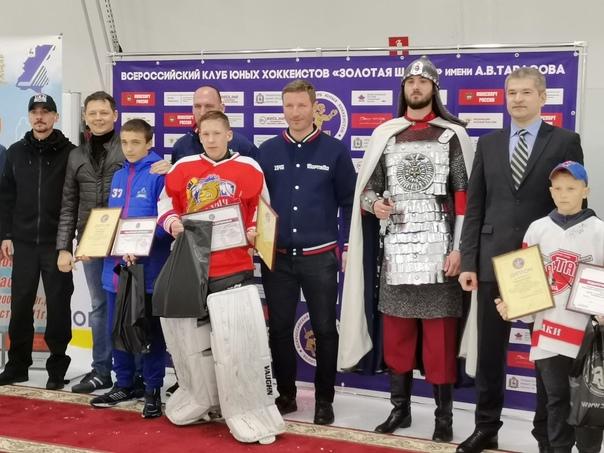 В Нижегородской области проходили финальные Всероссийские соревнования на призы клуба юных хоккеистов...